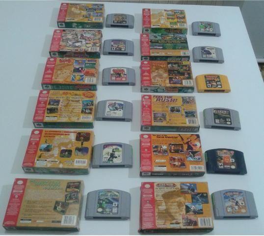 Fitas originais para Nintendo 64 (preço variado) - Foto 4