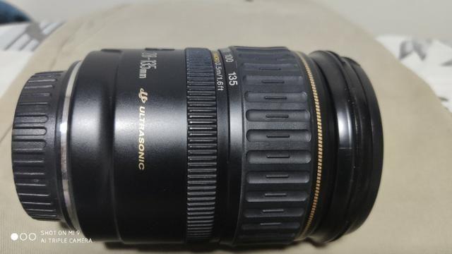 Lente Canon Ef 28mm 135 mm F/3.5-5.6 mm - Foto 2