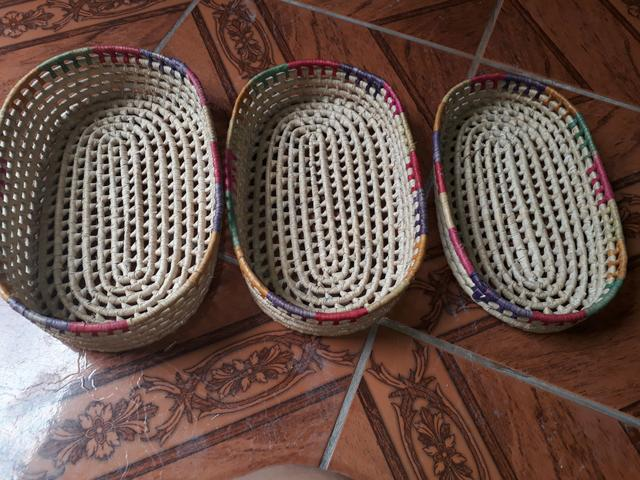 Kit de cesto para colocar pães