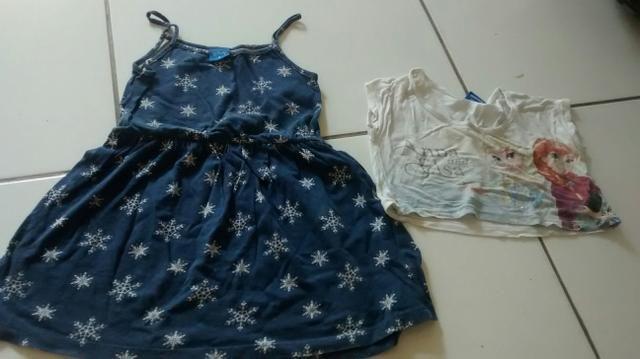 Lote de roupas infantis 5_6 anos - Foto 4