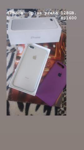IPhone 7plus 128GB R$1600