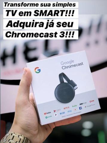 Chromecast 3 - novo lacrado