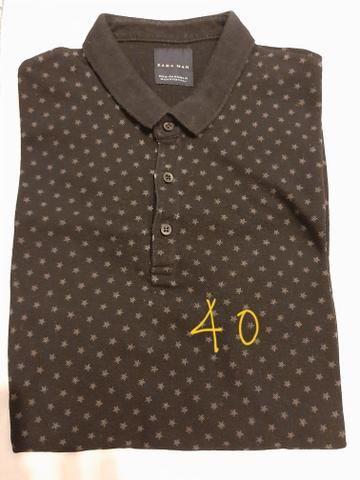 Camisas manga curta tipo polo - Foto 5