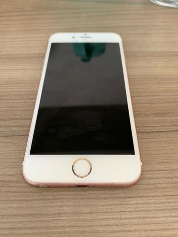 Iphone 6s 128Gb Rose Gold em Perfeito Estado Único Dono