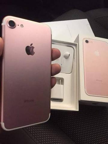 IPhone 7 Rose 32gb ( Aceito aparelho inferior com volta ) - Foto 2