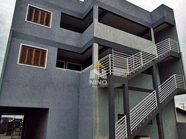Apartamento com 2 dormitórios para alugar, 53 m² por r$ 1.000,00/mês - são vicente - grava - Foto 11