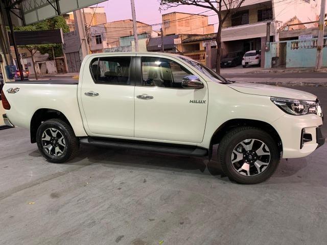 Toyota Hilux SRX 2.8 Branco Perola 2020 0KM - Foto 4