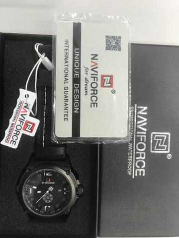 Relógio naviforce novo na caixa modelo 9090 - Foto 3