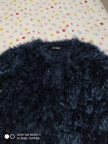 Blusão de lã.. barbada - Foto 2