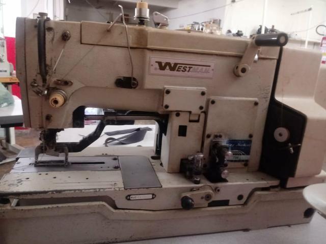Máquina de costura cazeadera westman