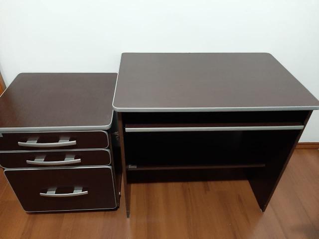 Mesa para computador e móvel com arquivo - Foto 2