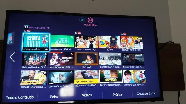Smart TV sansung 43 polegadas    1.500 - Foto 2