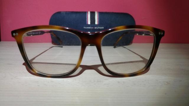 Armação Óculos Tommy Hilfiger Original - Bijouterias, relógios e ... b28d705382