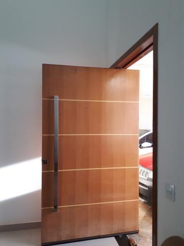 Casa moderna Vicente Pires platibanda lazer completo armários pé direito duplo IPTU - Foto 6