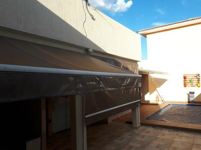 Casa moderna Vicente Pires platibanda lazer completo armários pé direito duplo IPTU - Foto 11