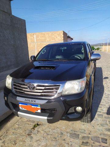 Hilux CD 4x4  SRV diesel 2013/2014