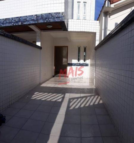 Casa com 3 dormitórios à venda, 105 m² - Ponta da Praia - Santos/SP
