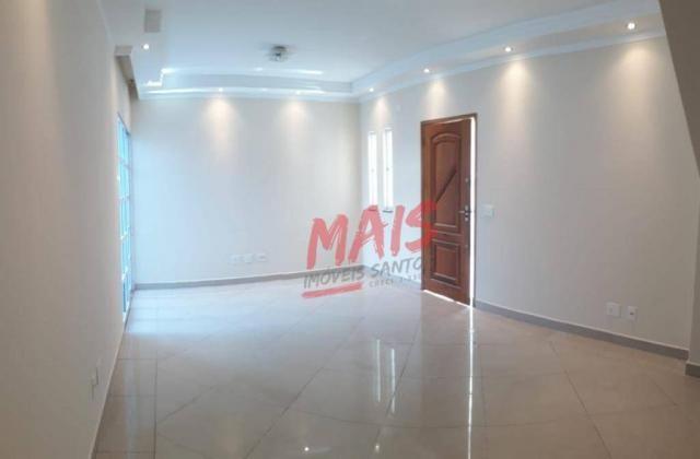Casa com 3 dormitórios à venda, 105 m² - Ponta da Praia - Santos/SP - Foto 4