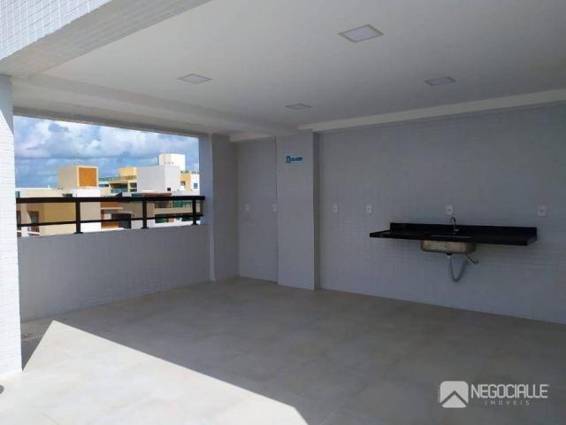 Apartamento com 2 dormitórios à venda, 63 m² por R$ 290.000,00 - Intermares - Cabedelo/PB - Foto 4