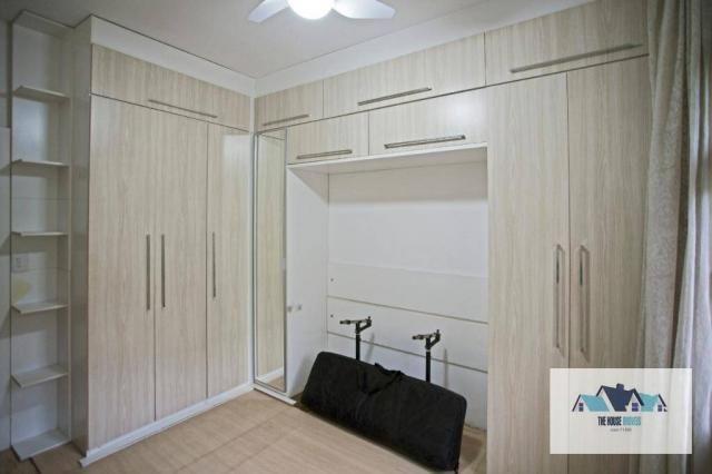 Apartamento com 3 dormitórios à venda, 130 m² por R$ 949.000 - Duas vagas de garagem - Pra - Foto 14