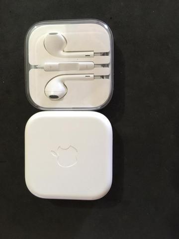 Fones Apple original iPhone novos na caixa