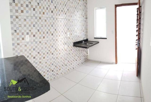 Pare de pagar aluguel! Casas com 3 quartos sendo 1 suíte com Documentação Grátis - Foto 4