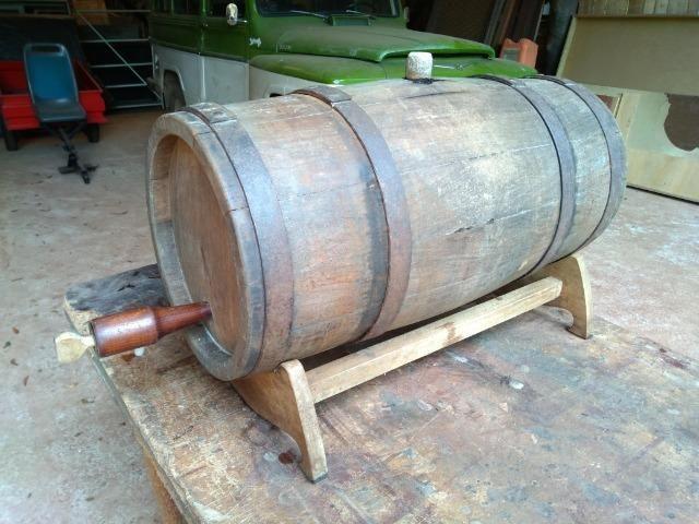 Barril/Pipa de carvalho 45 litros