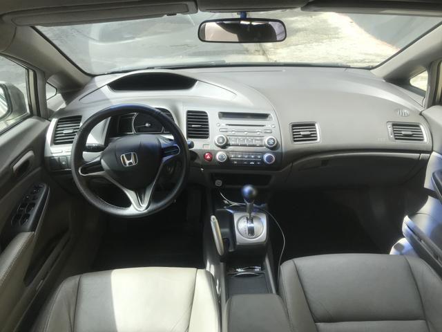 Honda civic completo automatico + couro - Foto 2