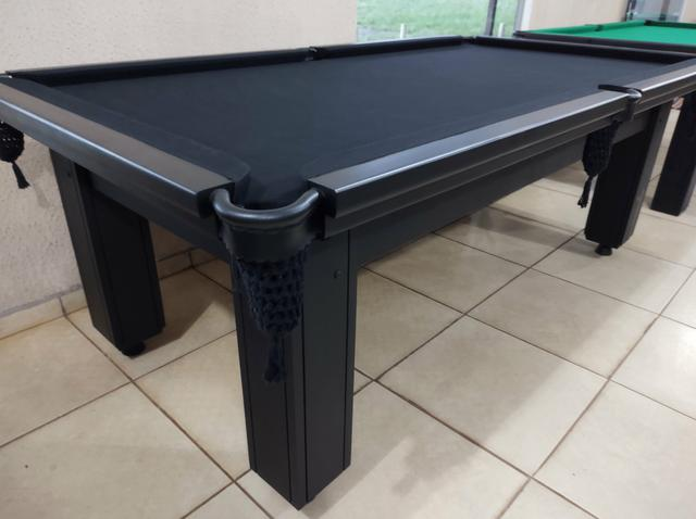 Troco mesa Sinuca Residencial/Pebolim/Ping pong Por Carro ou Moto - Foto 3