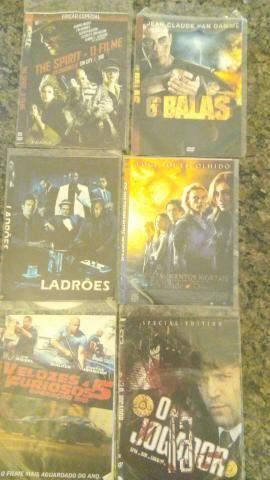 34 Dvds novos