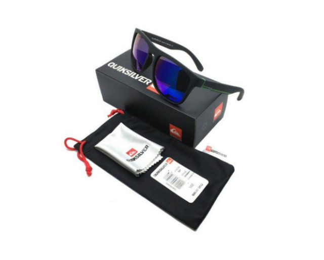 Óculos De Sol Quiksilver Com Proteção Uv400 + Bag + Flanela - Foto 2