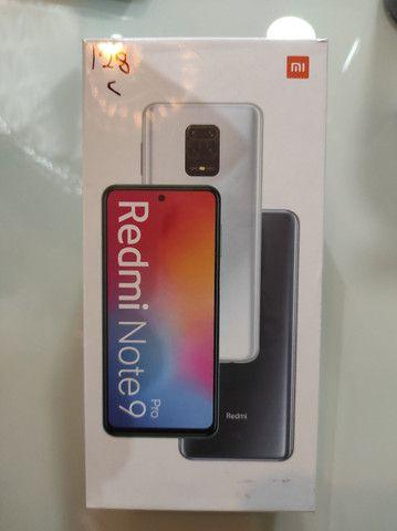 **Extraordinário** Redmi Note 9 Pro 128  da Xiaomi.. Novo Lacrado com Garantia e Entrega