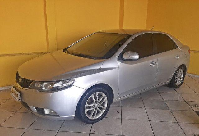 Kia Cerato EX3 1.6 Aut Completo Com Couro e IPVA 2021  pago!! - Foto 3