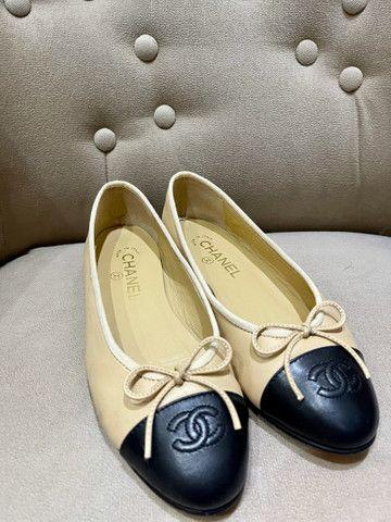 Sapatilha Clássica Chanel nº36 Brasil  - Foto 2