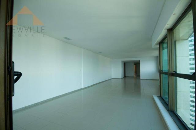 Apartamento com 4 quartos para alugar, 201 m² por R$ 9.499/mês - Boa Viagem - Recife - Foto 10