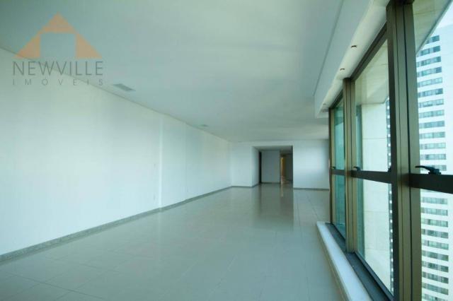 Apartamento com 4 quartos para alugar, 201 m² por R$ 9.499/mês - Boa Viagem - Recife - Foto 11