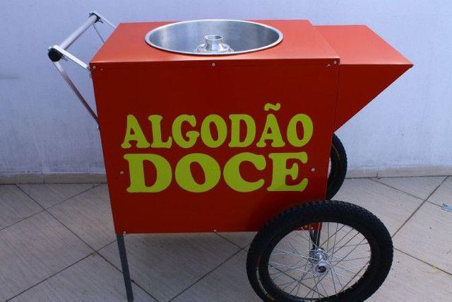 Carrinho De Algodao Doce Para Festa E Delivery Na Garagem - Foto 5