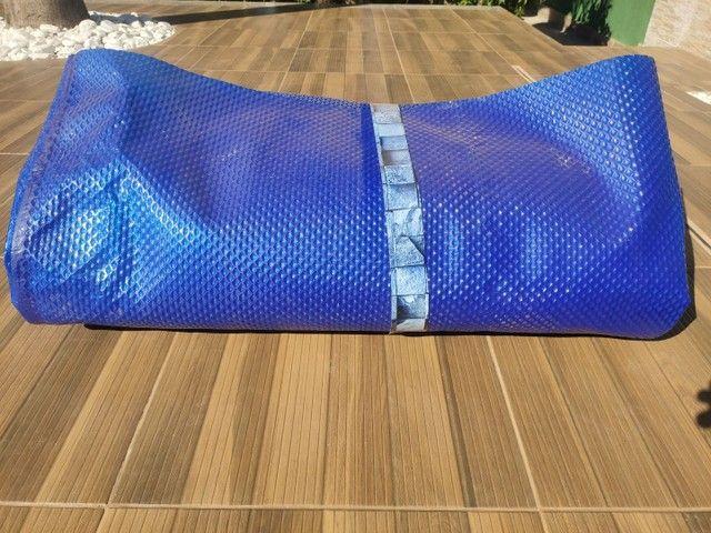 Capa térmica para piscina - lona - Foto 3