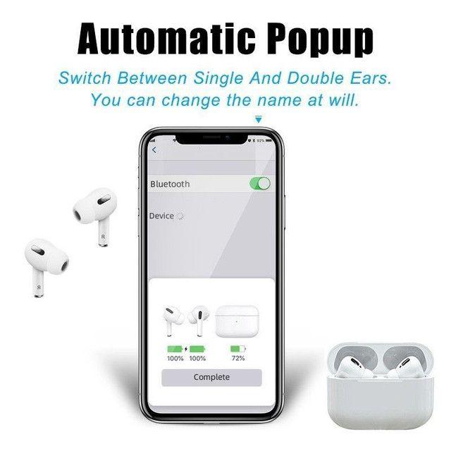 Fone De Ouvido I13 Pro Tws 5.0 Par AirPods Touch Android / Ios