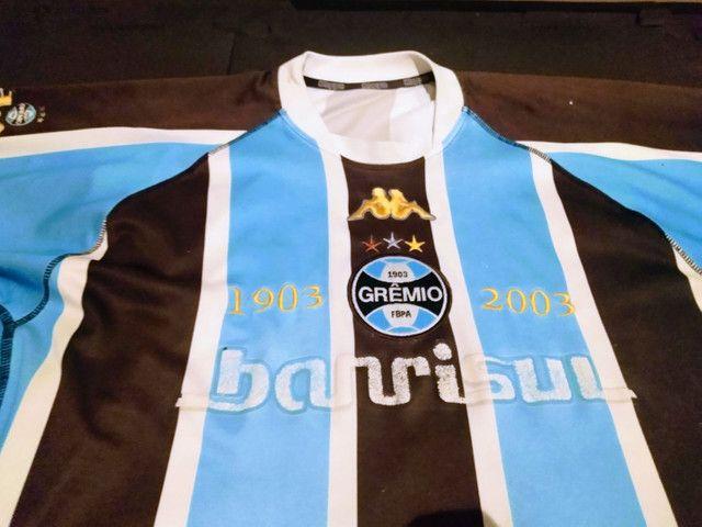 Camisas Centenário Grêmio - Foto 3