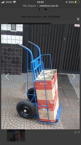 Carrinho de entrega reforçado 300kg