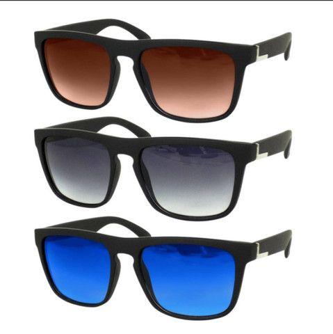 Óculos de Sol Masculino Quadrado Estiloso - Foto 4