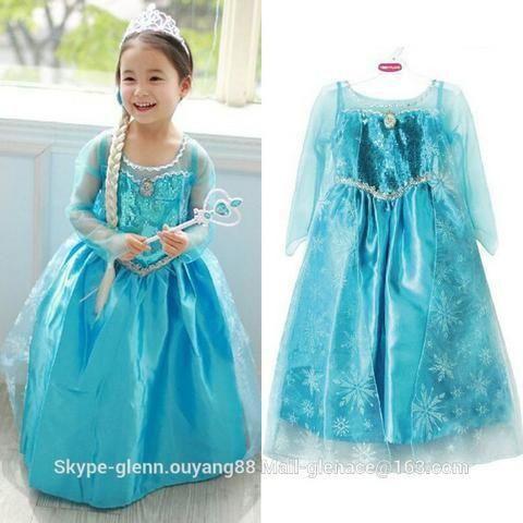 Vestido Aniversário Fantasia Princesa Frozen Elsa Pronta Entrega