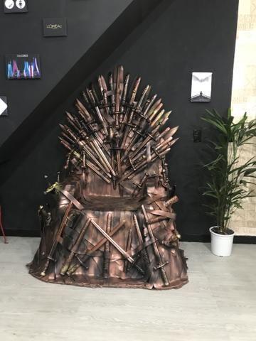 Game of thrones trono de ferro tamanho real