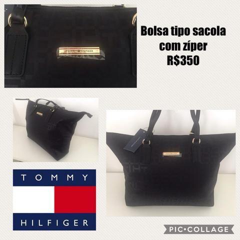 8f34d47bb Bolsa Feminina Tommy Hilfiger Original - Bolsas, malas e mochilas ...