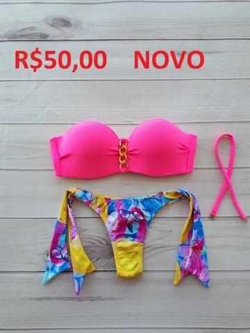 3403062169f5 Biquini Rosa com Bojo - Roupas e calçados - Bela Vista, Ipatinga ...