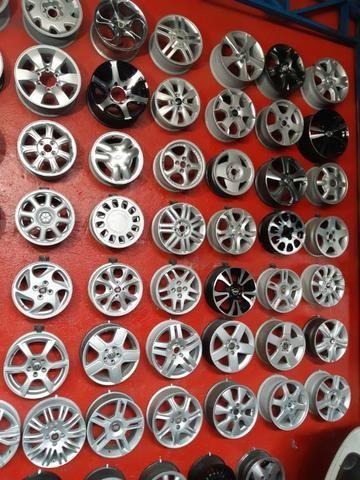 Rodas aros 13/14/15/16/17/18/19/20/22 para Fiat/GM/Nissan/VW/Toyota/Ford/Citroen e outros - Foto 12