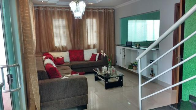 Samuel Pereira oferece: Casa Moderna Jardim Europa II 3 Suites Churrasqueira Piscina - Foto 3