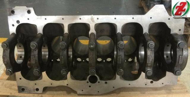 Bloco Motor Om352 Compressor 3 Furos - Foto 8