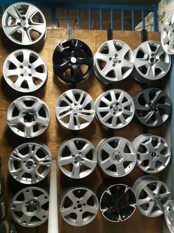 Rodas aros 13/14/15/16/17/18/19/20/22 para Fiat/GM/Nissan/VW/Toyota/Ford/Citroen e outros - Foto 4